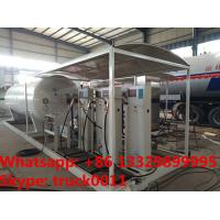 customized 10tons skid lpg gas filling station with 4 digital scales,10tons skid lpg gas tank with digital scales Manufactures