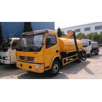 120hp DONGFENG 4*2 Vacuum Suction Truck 5 ton Manufactures