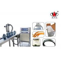 Milk Bottle 1-4 lines Continuous Inkjet Printer Date Serial Number Printing Manufactures