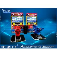 HD LCD Coin Operated Arcade Machines TT Motor Racing Simulator Manufactures