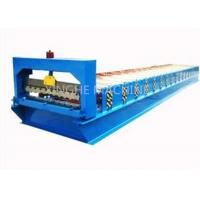 380V 3kw Roll Shutter Door Forming Machine , Sheet Metal Forming Equipment  Manufactures