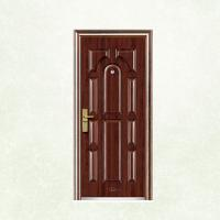 Buy cheap New Flush Panel Steel Door Design Steel Security Doors EGI Doors from wholesalers