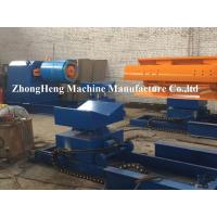 PPGI / GI / PPGL Coils Hydraulic Decoiler For Sheet Metal 0 ~ 15 m / min Manufactures