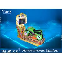 LCD Screen 3d Video Kiddy Ride Machine Simulate Real Driving Feeling Manufactures