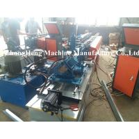 Buy cheap Metal Stud Cold Roll Forming Machine 3 Phase High Speed Water Resistance from wholesalers