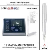 CTM046 LED 3D screen digital rotary permanent makeup eyebrow tattoo electronic pen Manufactures