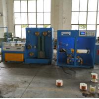 1500mpm Customized Wire Drawing Machine For Drawing And Annealing Automatic Double Spooler Manufactures