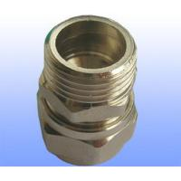 Quality compression brass fitting male straight for PEX-AL-PEX for sale