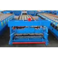 3kw High Speed Roof Panel Roll Forming Machine Using Galvanized Steel Coil Manufactures