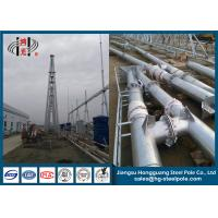 China 500KV Anti Rust Galvanized Steel Structures , Hot Dip Galvanized Power Transmission Tower on sale