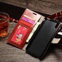 Quality Sony M4 Aqua Durable Sony Xperia Leather Case Wallet Stand Handmade Anti - Dirt for sale