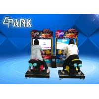 TT moto 42 Inch Car Racing Game Machine Coin Operated , Arcade Driving Simulator Manufactures