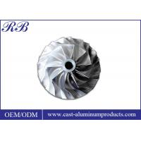 China Investment Casting Stainless Steel Impeller Lightweight 7.93g/Cm3 Density on sale