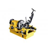 1/2 Inch To 3 Inch Electric Pipe Threading Machine With Self Priming Constant Flow Pump Manufactures