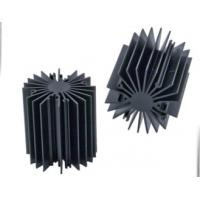 Sunflower Heat Sink /  Aluminum Heatsink Extrusion Profiles For Led Light , Black Anodized Manufactures
