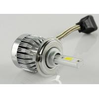 Fanless 6000 Lumen 12V LED Headlight COB LED 60W Super Bright Light Manufactures