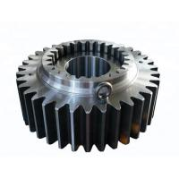 Buy cheap Feeding Machinery Metal Spur Gear / Precision Mechanical Hardware Parts from wholesalers