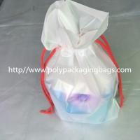 Transparent PVC Vinyl Small Drawstring Pouch Bags Women'S Makeup Pouch Manufactures
