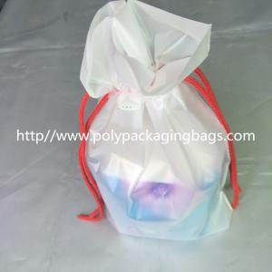 Transparent PVC Vinyl Small Drawstring Pouch Bags Women'S Makeup Pouch Manufactures