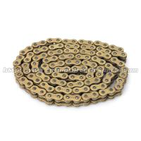 High Performance Off Road Motorcycle Chain Kits With Heat Treatment Process Manufactures
