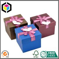 Custom Design Matte Color Print Cardboard Paper Gift Box with Lid Manufactures