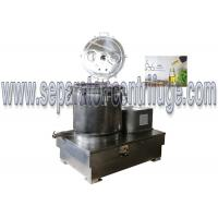 Buy cheap BB30 Stainless Steel Vertical Wash And Dry Extraction Basket Centrifuge For CBD from wholesalers