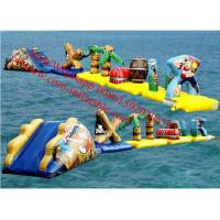 inflatable floating obstacle floating obstacle course outdoor obstacle course equipment Manufactures