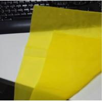 Yellow 80 - 48 Polyester Screen Printing Mesh for Textile ,115cm  ~ 365cm width Manufactures