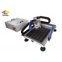 Cast Iron CNC Milling Machine / CNC Engraver Machine For Soft Materials Carving Manufactures