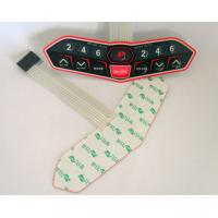 Quality EL / PVC Backlit Push Button Membrane Switch With 3m Adhesive For Decoration for sale