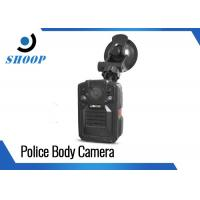Infrared Police Wearing Body Cameras , DVR Body Worn Camera With Night Vision Manufactures