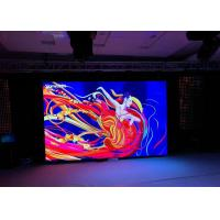 Ultra Thin P3.91 SMD Indoor LED Stage Screen Rental 500*1000mm Ture Color Manufactures