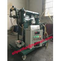 China Vacuum Transformer Oil Purifier with moisture tester, Insulation oil purification System ,CE ,ISO energy saving product on sale