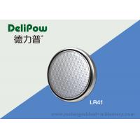 China Alkaline Button Cell Battery Lithium With 24 Months Shelf Life LR41 on sale