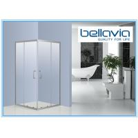 Sliding Stainless Steel Showers Stalls Square Shower Enclosure 800 X 800 With Chrome Handle Manufactures