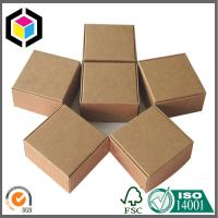 Folding Kraft Corrugated Shipping Box; Brown Corrugated Packaging Box Manufactures