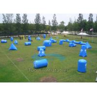 Paintball Shooting Cage Arena Paintball Bunker Inflatable Security Guarantee Manufactures