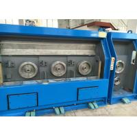 AC Motor Individual Drives Copper Wire Drawing Machine Water Cooled Design Manufactures
