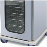 Quality Silver Glass Door Food Warmer Cart Insulation Foam 2.62KW Stainless Steel for sale