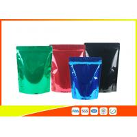 Green Tea / Instant Coffee Packaging Bags , Coffee Pouch Bags Blue Green Black Manufactures