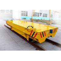 30T Heavy Load  Electric Transfer Cart Anti Crush 3000*1500mm CE Approved Manufactures