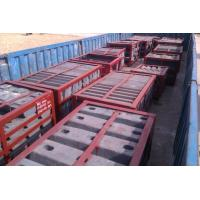 Steel Large Mine Mill Liners High Abrasion Performance Hardness HRC33-43 Coal Mill Manufactures