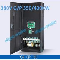 350kw/400kw VFD G/P pump  motor AC drive CNC frequency converter Low Voltage frequency inverter Vector Control Transduce Manufactures