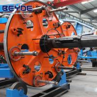 China Drum Type Cable Laying Machine Assembling Plate With Transmission System on sale