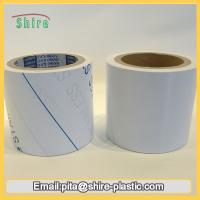 Stainless Steel Laser Masking Film , Temporary Transparent PVC Lamination Film Manufactures