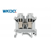 JUK 10N Screw Clamp Electrical Terminal Block DIN Mounted Type Phoenix Switches Power Distribution Manufactures