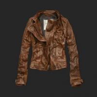 Abercrombie A&F Womens leather jackets Manufactures