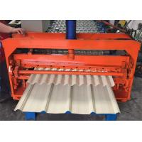 Color Coated Metal Sheet Rolling Machine , Smart Metal Roofing Roll Former  Manufactures
