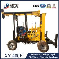 China XY-400F Core Sampling Drilling Rig, 400m Water Well Drilling Rig Machine for Sale on sale