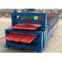 5.5KW High Speed Roof Panel Roll Forming Machine With High Precision In Cutting Manufactures